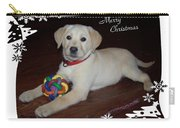 Lab Pup Merry Christmas Carry-all Pouch