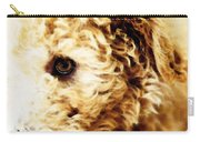 Labradoodle Dog Art - Sharon Cummings Carry-all Pouch