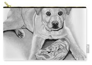 Sneaker Snatcher- Labrador And Chow Chowx Mix Carry-all Pouch