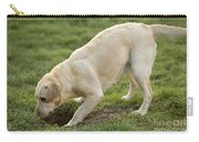 Labrador Checking Hole Carry-all Pouch