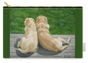 Labrador Lazy Afternoon Carry-all Pouch