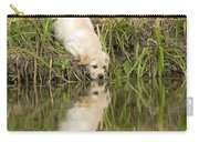 Labrador Puppy Drinking Carry-all Pouch