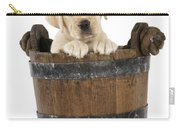 Labrador Puppy In Bucket Carry-all Pouch