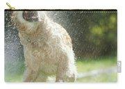 Labrador Retriever And Hose Carry-all Pouch