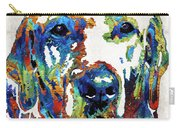 Labrador Retriever Art - Play With Me - By Sharon Cummings Carry-all Pouch