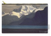 Lac Leman And Les Dents-du-midi Carry-all Pouch by Felix Edouard Vallotton