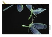 Lacewing Taking Off Carry-all Pouch by Stephen Dalton