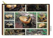 Lactarius Torminosus - Yellow Mushrooms Carry-all Pouch