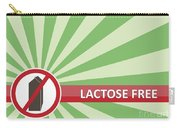 Lactose Free Banner Carry-all Pouch