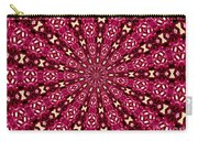 Lacy Orchid Kaleidoscope Carry-all Pouch