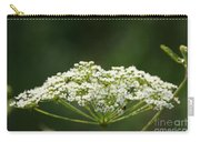 Lacy White Carry-all Pouch