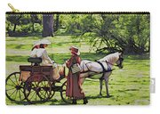 Ladies In The Meadow Carry-all Pouch