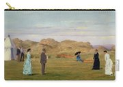 Ladies Match At Westward Ho Carry-all Pouch by Francis Powell Hopkins