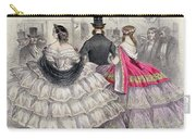 Ladies Wearing Crinolines At The Royal Italian Opera Carry-all Pouch