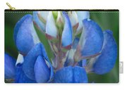 Lady Bug And Bluebonnet Carry-all Pouch