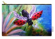 Lady Bug Landing Carry-all Pouch