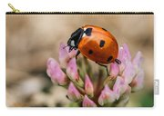 Lady Bug On Clover Carry-all Pouch