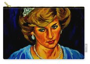 Lady Diana Portrait Carry-all Pouch