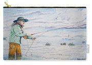 Lady Fly Fishing Carry-all Pouch