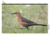 Lady Grackle On A Walk Carry-all Pouch