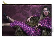 Lady In Pink... Carry-all Pouch