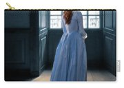 Lady In Purple Gown By Window Carry-all Pouch