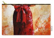Lady In Red  39 Carry-all Pouch