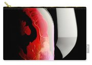 Lady In Red Carry-all Pouch by Jon Neidert