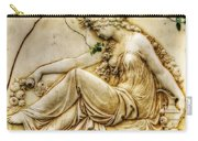 Lady In Robe And Roses Carry-all Pouch