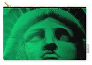 Lady Liberty In Copper Green Carry-all Pouch