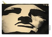 Lady Liberty In Dark Sepia Carry-all Pouch