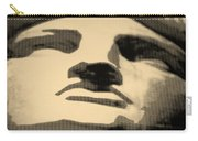 Lady Liberty In Sepia Carry-all Pouch