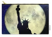 Lady Liberty Nyc - Featured In Comfortable Art Group Carry-all Pouch