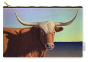 Lady Longhorn Carry-all Pouch by James W Johnson