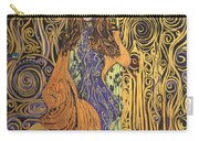Lady Of Swirl Carry-all Pouch