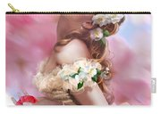Lady Of The Camellias Carry-all Pouch by Drazenka Kimpel