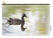 Lady On Glass - Mallard Carry-all Pouch
