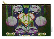 Lady Panda Welcomes Spring In Love And Light And Peace Carry-all Pouch