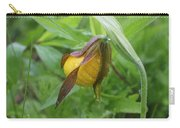 Lady Slipper Bud Carry-all Pouch
