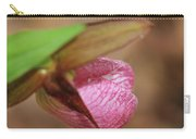 Lady Slipper At Moore State Park Close Up 1 Carry-all Pouch