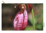 Lady Slipper At Moore State Park Close Up 2 Carry-all Pouch