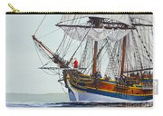 Lady Washington And Captain Gray Carry-all Pouch by James Williamson
