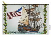 Lady Washington And Holly Carry-all Pouch