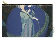 Lady With A Dragon Carry-all Pouch