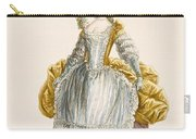 Ladys Ball Gown, Engraved By Dupin Carry-all Pouch