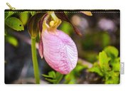 Ladyslipper  Wildflower Carry-all Pouch
