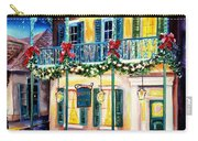 Lafitte Guest House At Christmas Carry-all Pouch