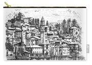 Lago Di Como-brienno Carry-all Pouch