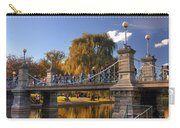 Lagoon Bridge In Autumn Carry-all Pouch