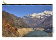 Lake And Snow-capped Mountain Carry-all Pouch